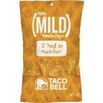 Taco Bell Mild Mini Tortilla Chips - 1oz
