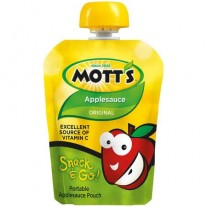 Mott's Snack And Go Original Applesauce Pouch - 3.2oz