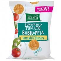 Kashi Sundried Tomato, Basil & Feta Hummus Chips - 0.81oz
