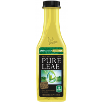 Pure Leaf Unsweetened Green Tea - 18.5oz