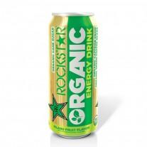Rockstar Organic Energy Drink Island Fruit Flavor- 15oz