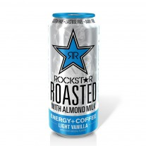 Rockstar Roasted With Almond Milk Light Vanilla- 15oz
