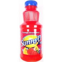 Sunny Delight Orange Strawberry - 16oz
