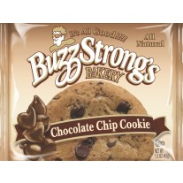 Buzz Strong Whole Grain Chocolate Chip Cookie - 1.5oz