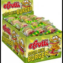 Efrutti Sour Mini Burger Gummi Candy - 60 Count (.32oz)