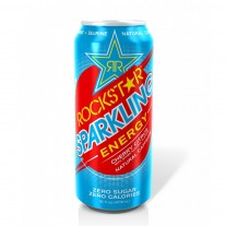 Rockstar Sparkling Energy Drink Cherry Citrus- 16oz