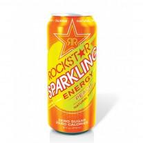 Rockstar Sparkling Energy Drink Peach- 16oz