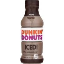 Dunkin' Donuts Iced Coffee Mocha - 13.7oz