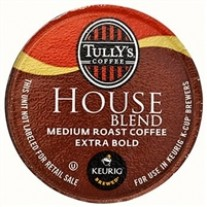 Tully's House Blend K-Cups - 24ct