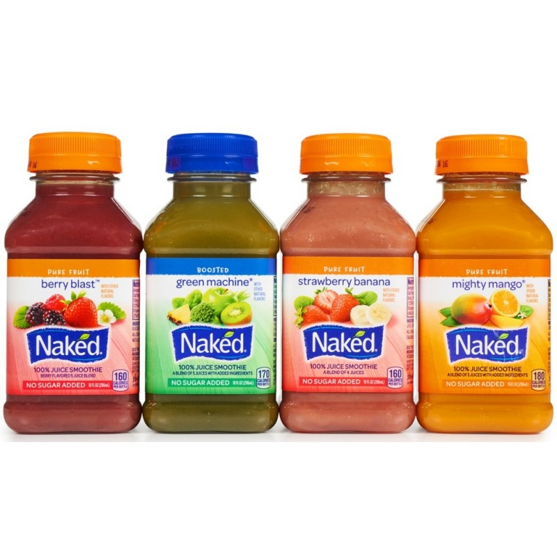 Naked Juice Variety Pack - 12 Count (10oz) - All C-Store