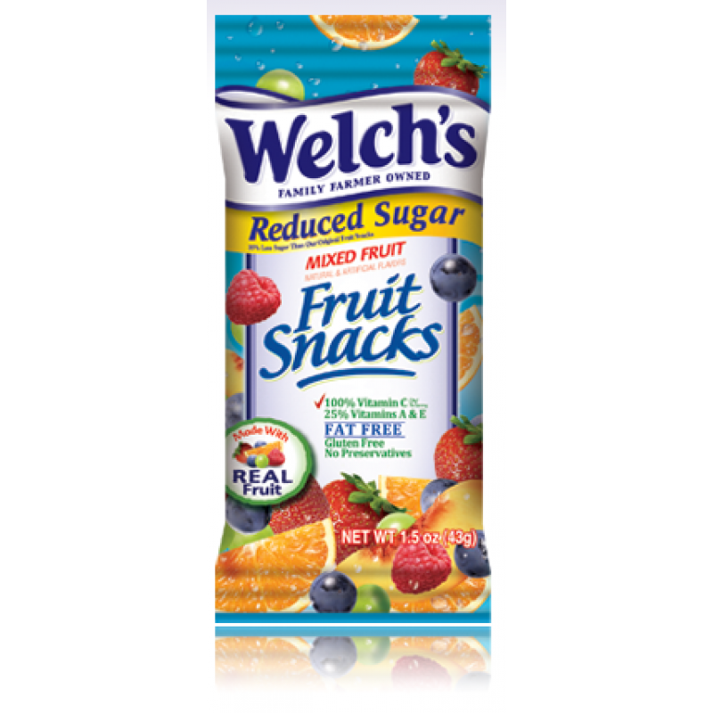 Welch's Fruit Snacks Reduced Sugar