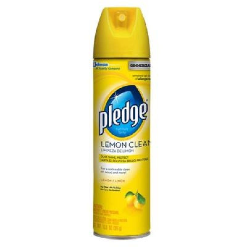Pledge Lemon Clean Furniture Spray 391g 13 8 Oz Snackoree